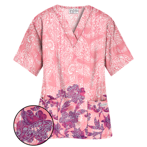 Bluza medicala '2 pocket Top' (PC62PFU)