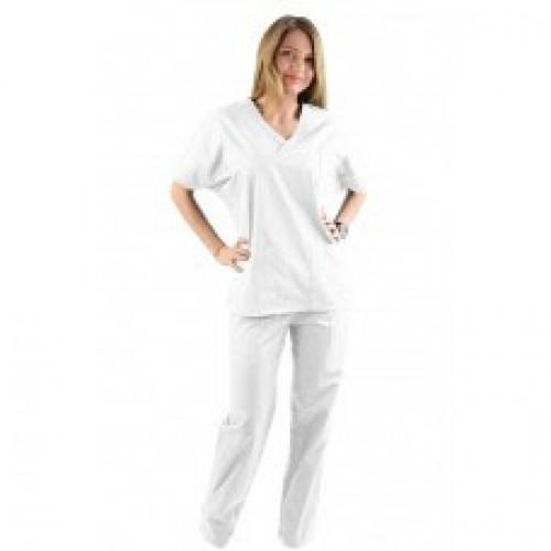 Costum medical alb - unisex