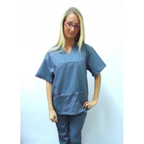 Costum medical gri - unisex