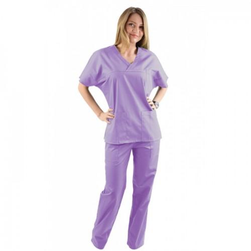 Costum medical lila - unisex