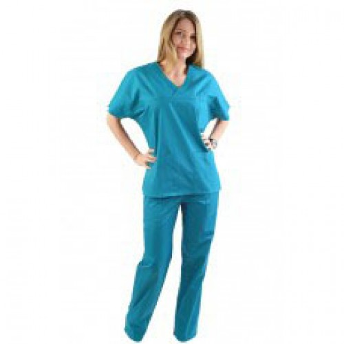 Costum medical turcoaz - unisex