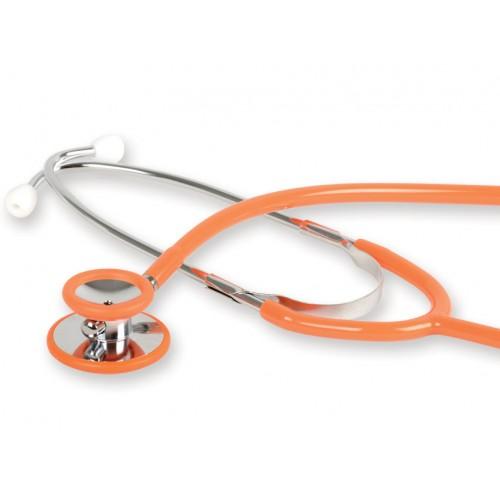 Stetoscop cu capsula dubla GIMA- Latex Free - orange (32577)