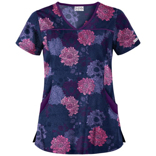 Bluza medicala   Floral Explosion   (UA864NFE)